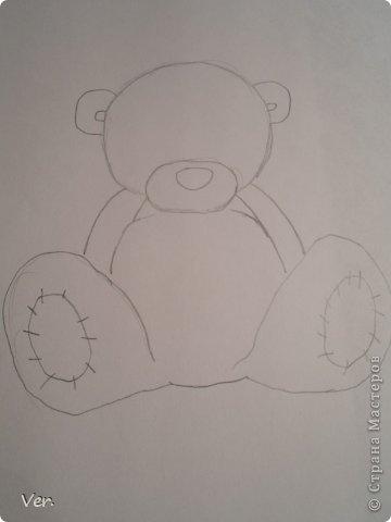 Приветик всем:) Сегодня я расскажу как красиво и правильно нарисовать мишку тедди.А так же как правильно его разукрасить.Возьмите только бумагу,карандаш и ластик.Начинаем рисовать... фото 4