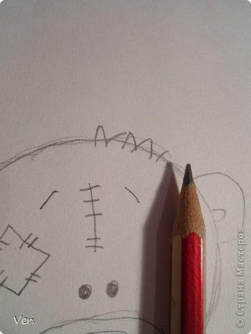 Приветик всем:) Сегодня я расскажу как красиво и правильно нарисовать мишку тедди.А так же как правильно его разукрасить.Возьмите только бумагу,карандаш и ластик.Начинаем рисовать... фото 6