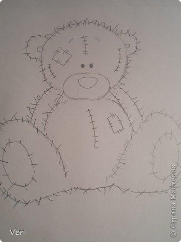 Приветик всем:) Сегодня я расскажу как красиво и правильно нарисовать мишку тедди.А так же как правильно его разукрасить.Возьмите только бумагу,карандаш и ластик.Начинаем рисовать... фото 7