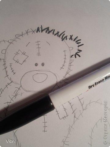Приветик всем:) Сегодня я расскажу как красиво и правильно нарисовать мишку тедди.А так же как правильно его разукрасить.Возьмите только бумагу,карандаш и ластик.Начинаем рисовать... фото 8