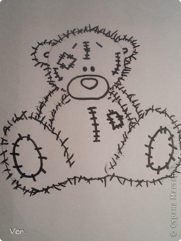 Приветик всем:) Сегодня я расскажу как красиво и правильно нарисовать мишку тедди.А так же как правильно его разукрасить.Возьмите только бумагу,карандаш и ластик.Начинаем рисовать... фото 11