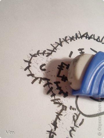 Приветик всем:) Сегодня я расскажу как красиво и правильно нарисовать мишку тедди.А так же как правильно его разукрасить.Возьмите только бумагу,карандаш и ластик.Начинаем рисовать... фото 12