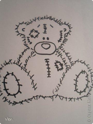 Приветик всем:) Сегодня я расскажу как красиво и правильно нарисовать мишку тедди.А так же как правильно его разукрасить.Возьмите только бумагу,карандаш и ластик.Начинаем рисовать... фото 13