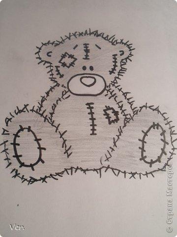 Приветик всем:) Сегодня я расскажу как красиво и правильно нарисовать мишку тедди.А так же как правильно его разукрасить.Возьмите только бумагу,карандаш и ластик.Начинаем рисовать... фото 14