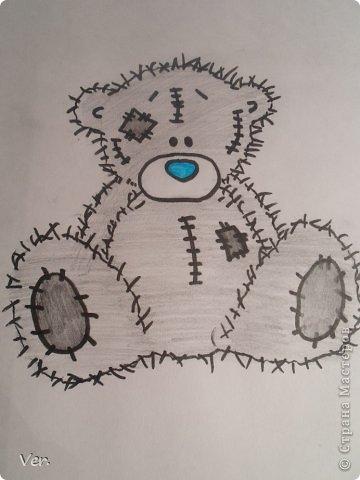 Приветик всем:) Сегодня я расскажу как красиво и правильно нарисовать мишку тедди.А так же как правильно его разукрасить.Возьмите только бумагу,карандаш и ластик.Начинаем рисовать... фото 15