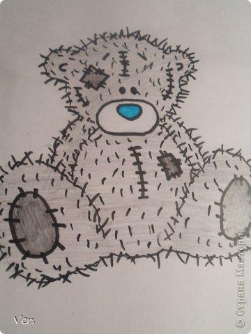 Приветик всем:) Сегодня я расскажу как красиво и правильно нарисовать мишку тедди.А так же как правильно его разукрасить.Возьмите только бумагу,карандаш и ластик.Начинаем рисовать... фото 16