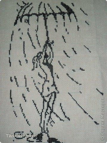 Вышивка крестом Дождь