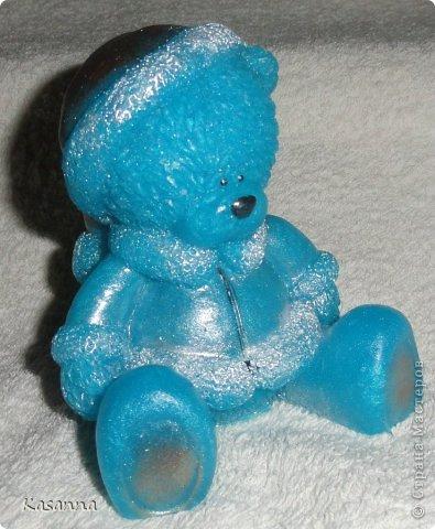 """Мишка в коляске. Из мыльной основы, с миндальным маслом, америк. отдушка """"Обезьянья радость""""))  фото 62"""