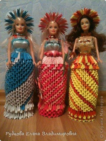 Страна мастеров схемы модульных кукол