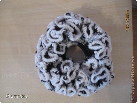 Вязание крючком мои резиночки