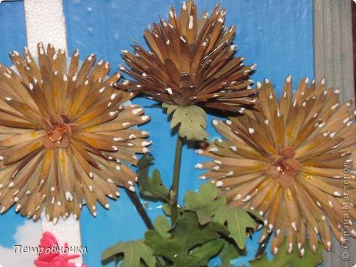 Этот сюжет мне то же приснился. Цветы из летучек ясеня, а  серединка семеня калины. фото 2