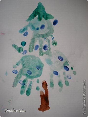 Доброго времени суток! выставляю рисунки ладошками. Очень долго искала в интернете образцы рисунков по этой технике, к сожалению мало что нашла .. . в итоге пришлось фантазировать. Дочке очень нравились такие занятия рисованием. Приходилось по три-четыре раза в день с ней рисовать. Петушок-золотой гребешок фото 6