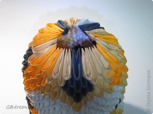 Наконец я выделила свободное время и заняла его непосредственно изготовлением этой Кисули. Это мой первый мастер-класс и я надеюсь что он будет понятен даже новичкам в искусстве модульного оригами. фото 24