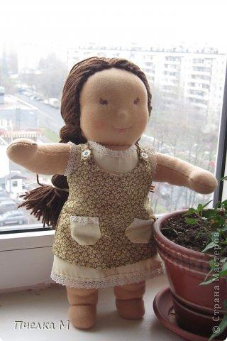 Кукла в Вальдорфском стиле. фото 1