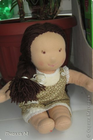 Кукла в Вальдорфском стиле. фото 4