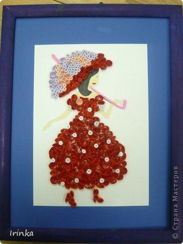 """Работы выполнены моими воспитанницами. Букет """"Ромашки и розы"""" Кристина, 13 лет фото 3"""