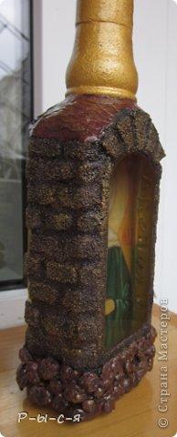 Вот такие бутылочки получились. Спасибо Катюся за МК МК тут http://stranamasterov.ru/node/153839?c=favorite_c фото 9