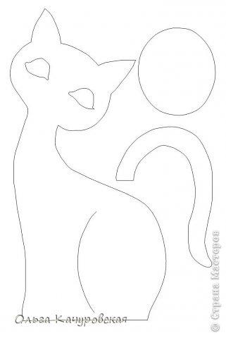 """День добрый всем!!! А я к вам сегодня с семейством кошек, которое недавно поселилось у меня дома!!!! Нагляделась на красивых кошечек у Любавы https://stranamasterov.ru/user/54970 , и себе захотелось.... Рисовала... рисовала эскизы... и вот """"пошилось"""" наконец-то! Теперь эти кошечки стоят в комнате у дочки - """"радуют взгляд"""" Да только пришлось повозиться - не с первого раза получилось так, как вначале задумывала. Так что с вами буду делиться """"антиМастер-классом"""" : )))) фото 44"""