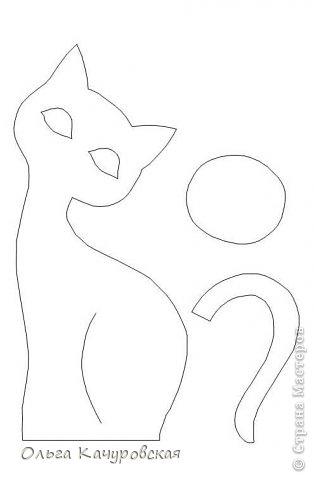 """День добрый всем!!! А я к вам сегодня с семейством кошек, которое недавно поселилось у меня дома!!!! Нагляделась на красивых кошечек у Любавы https://stranamasterov.ru/user/54970 , и себе захотелось.... Рисовала... рисовала эскизы... и вот """"пошилось"""" наконец-то! Теперь эти кошечки стоят в комнате у дочки - """"радуют взгляд"""" Да только пришлось повозиться - не с первого раза получилось так, как вначале задумывала. Так что с вами буду делиться """"антиМастер-классом"""" : )))) фото 45"""