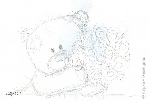 рисунок мишка:
