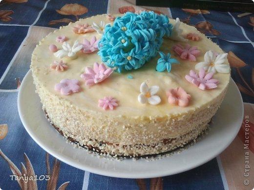 Приготовление тортов, фото