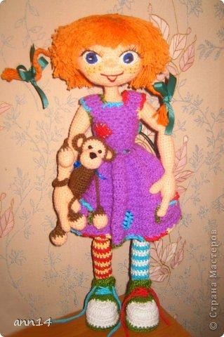 Вот наконец то связалась моя первая куколка))