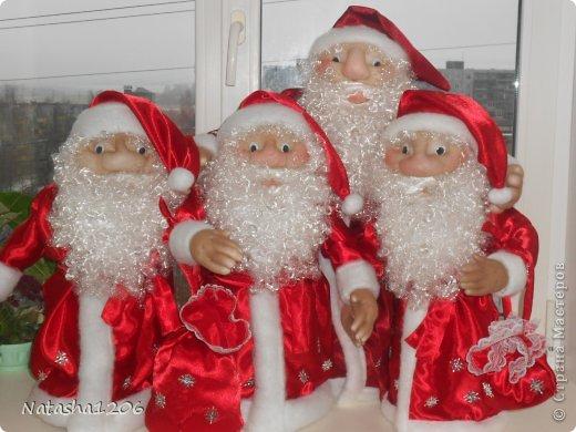 Дед мороз мастер класс фото
