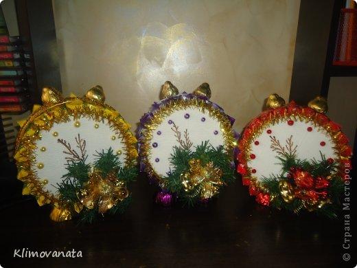 Новогодние поделки своими руками из конфет с