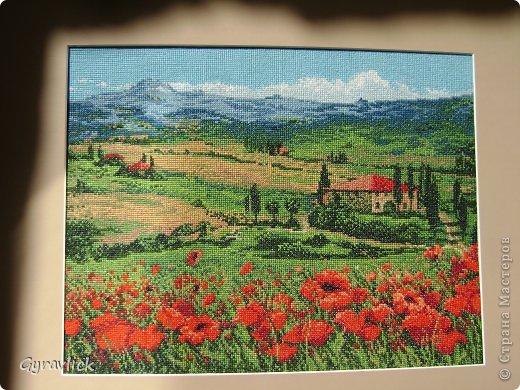 рисунок Вышивка Тоскана