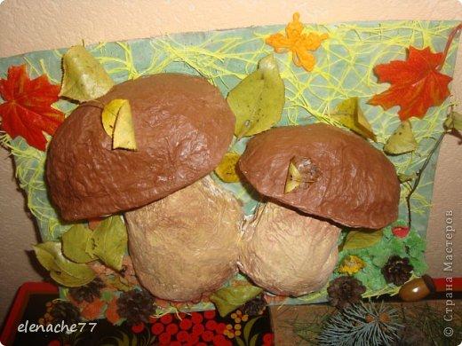 Поделки для детского сада на тему грибы 5