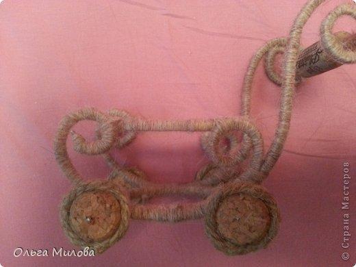 Колясочка-миниатюра... фото 6