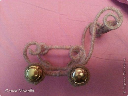 Колясочка-миниатюра... фото 7