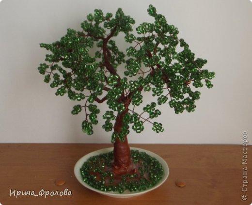 Бисероплетение дерево из пайеток мастер класс идеи #3