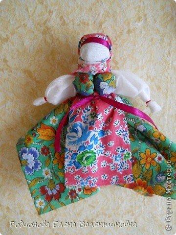 """Это кукла """"Девка  - Баба"""". Кукла готовила девочку к взрослой жизни, показывая, что не всегда жизнь будет беспечной. Кукла Девка - Баба представляет собой куклу - перевертыш. (Сторона """"Девка"""") фото 16"""