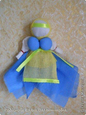 """Это кукла """"Девка  - Баба"""". Кукла готовила девочку к взрослой жизни, показывая, что не всегда жизнь будет беспечной. Кукла Девка - Баба представляет собой куклу - перевертыш. (Сторона """"Девка"""") фото 17"""