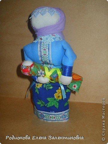 """Это кукла """"Девка  - Баба"""". Кукла готовила девочку к взрослой жизни, показывая, что не всегда жизнь будет беспечной. Кукла Девка - Баба представляет собой куклу - перевертыш. (Сторона """"Девка"""") фото 23"""