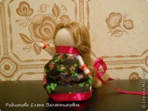 """Это кукла """"Девка  - Баба"""". Кукла готовила девочку к взрослой жизни, показывая, что не всегда жизнь будет беспечной. Кукла Девка - Баба представляет собой куклу - перевертыш. (Сторона """"Девка"""") фото 10"""