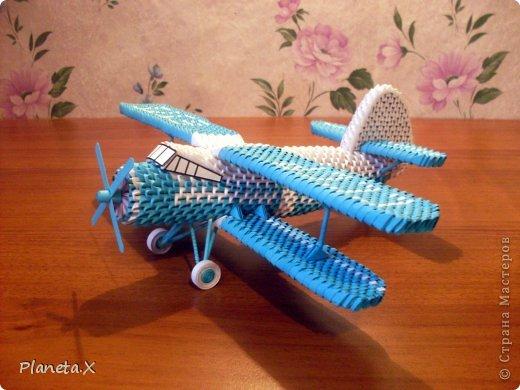 Схема оригами модульное самолёт фото 932