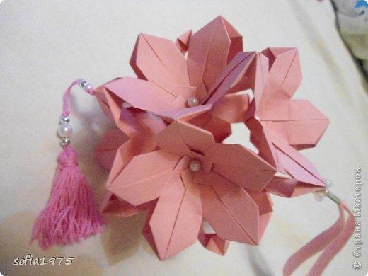 Как из бумаги сделать цветок сакуры из