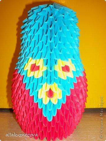 Модульное оригами матрешки схемы