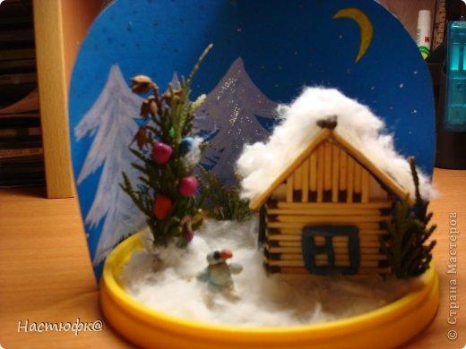 Макеты новогодних домиков своими руками