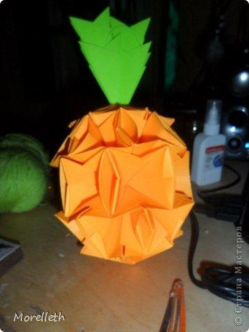 Игрушка Оригами Ананас оригами