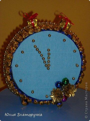 Подарок на новый год часы своими руками