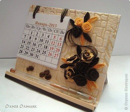 Как сделать календарь своими руками с фото