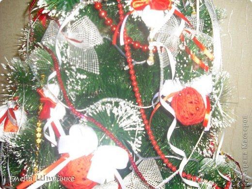 В прошлом году, мы решили украсть ёлочку только игрушками сделанными своими руками. Выдержали красно-белую гамму. В итоге получилась вот такая ёлочка. Решили поделиться с вами своими результатами. Вдруг кому-то пригодятся наши идеи в предверии Нового года. фото 6