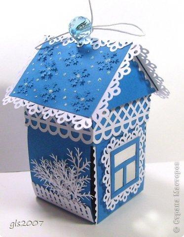 Зимний домик. Еще раз про елочку (МК) фото 2