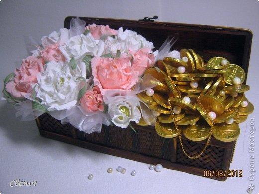 Нарциссы своими руками с конфетами