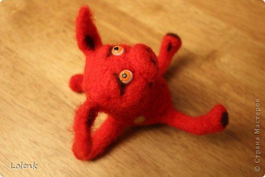 Моя первая игрушка! Подсмотрела у замечательного мастера utichka https://stranamasterov.ru/user/37556. фото 1