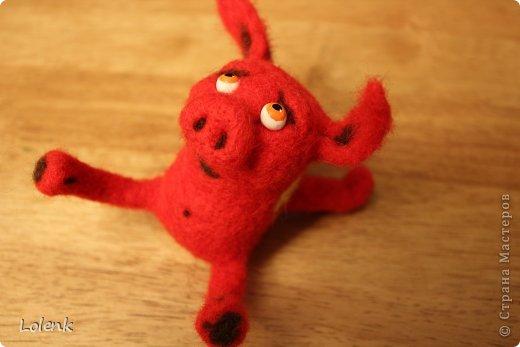 Моя первая игрушка! Подсмотрела у замечательного мастера utichka https://stranamasterov.ru/user/37556. фото 2