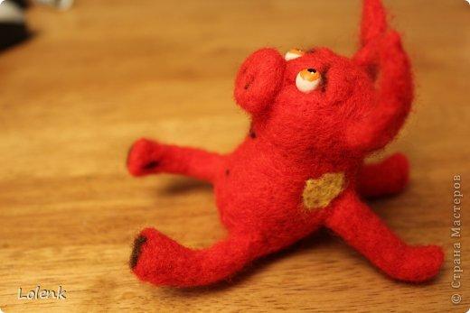 Моя первая игрушка! Подсмотрела у замечательного мастера utichka https://stranamasterov.ru/user/37556. фото 3